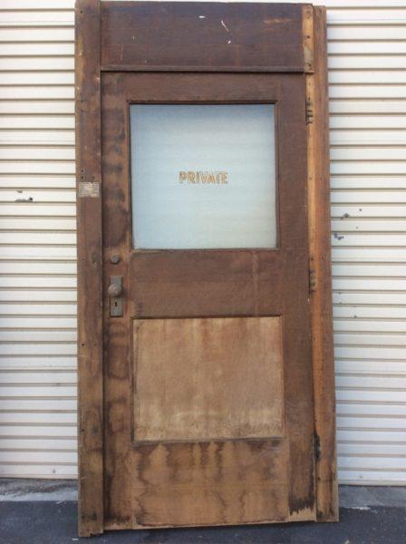 Old Door Table